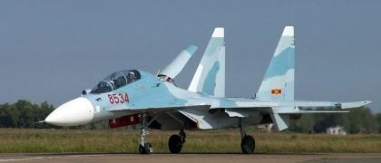 Vietnamese Air Force's Sukhoi SU-30 MK2 Fighter Jet Goes Missing