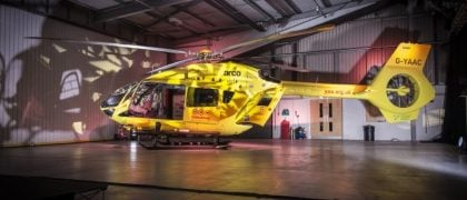 Yorkshire Air Ambulance Presents its New Airbus H145