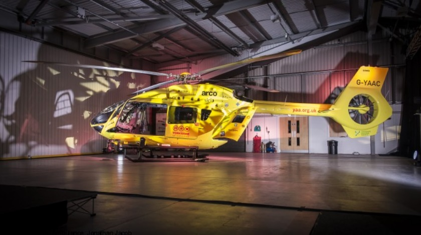Yorkshire Air Ambulance Presents its New Airbus H145