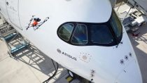 Airbus Demonstrates Aircraft Inspection by Drone at Farnborough