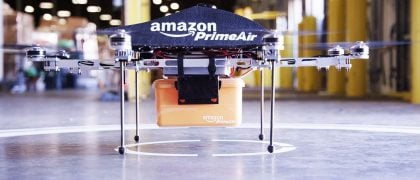 Amazon is Going to Britain for Drone Testing