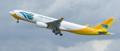 Cebu Pacific Places Order for Two A330-300s