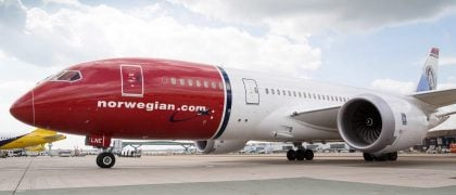 DOT Deny Norwegian Air UK's Bid to Fly to US