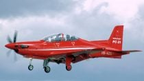 First RAAF PC-21 Completes Maiden Flight