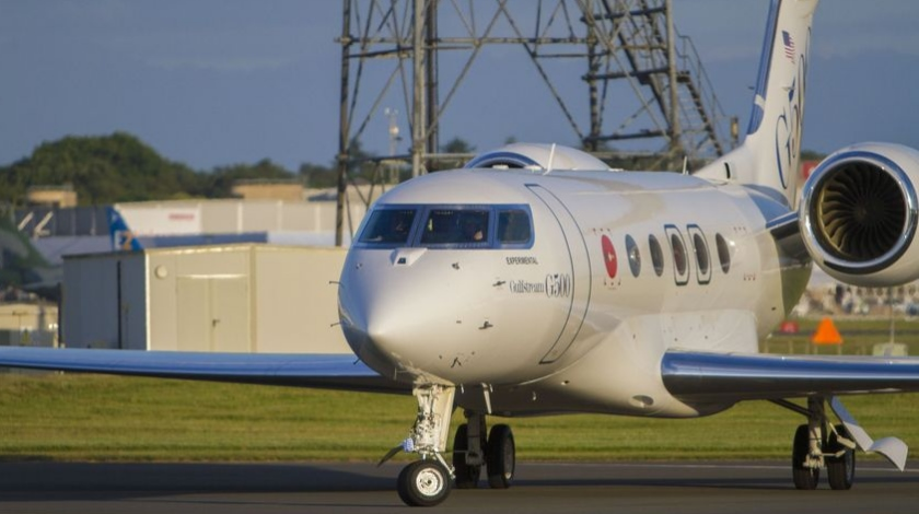 Gulfstream G500 Makes European Debut at Farnborough International Airshow