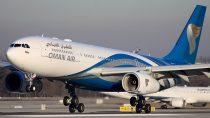 Oman Air Flight Suffers Burst Tire
