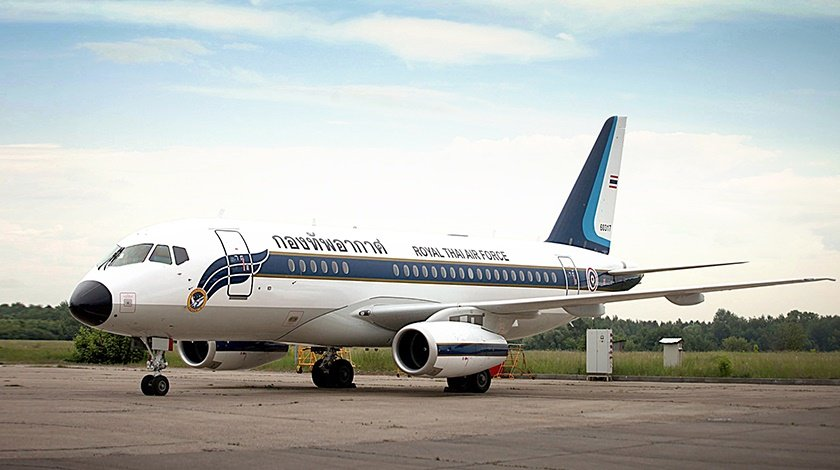 Royal THAI Air Force Takes Delivery of Sukhoi Business Jet