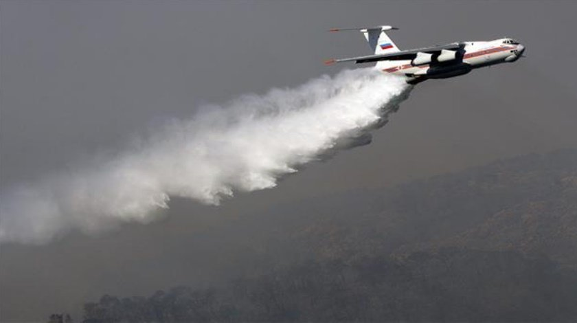 Six People Were Killed in a Russian Plane crash on Fire-fighting Duty