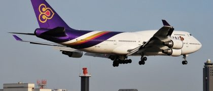THAI Hopes To Resume Flights To US