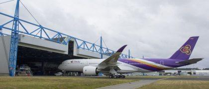 Thai Airways' First Airbus A350 XWB to Start Ground and Flight Tests