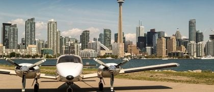 12-Minute Flight From Toronto to Niagara Falls Arriving This September