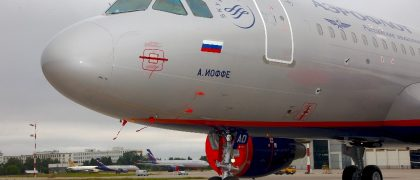 Aeroflot Takes Delivery of Brand New A320