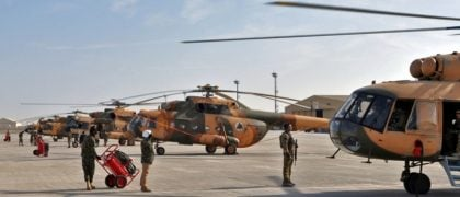 Afghan Air Force Needs More Pilots and Planes