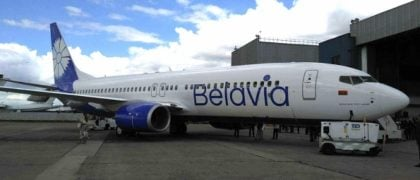 Boeing Celebrate Delivery of Belavia's First Next-Generation 737-800