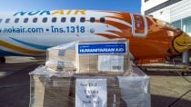NOK Air 737-800 Humanitarian Relief Delivery