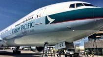Cathay Pacific's H1 Profit Plunges 82% on China Slowdown, Shares Slide