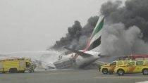 Emirates Boeing 777 Crashlands at Dubai DXB Airport
