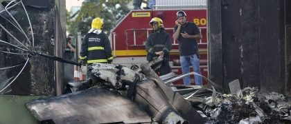 Executive Jet Crashes In South Brazil, Killing 8