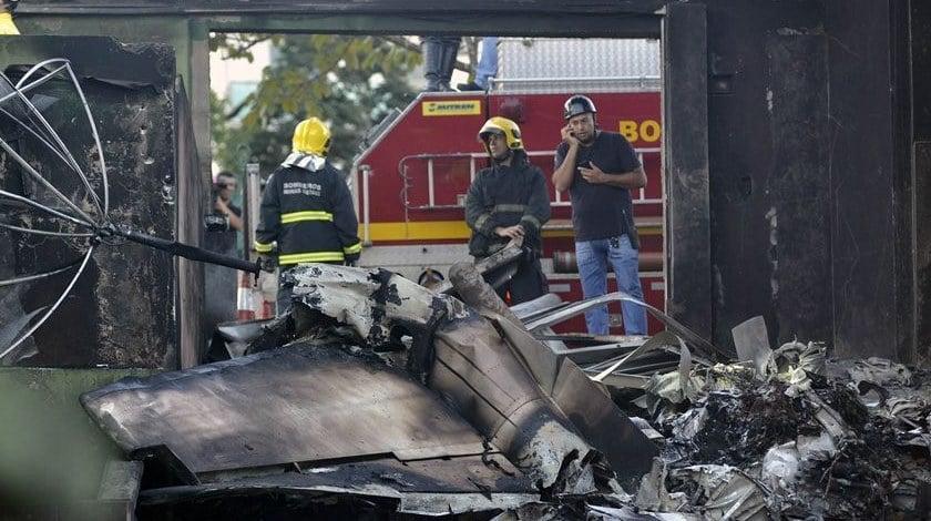 Executive Jet Crashes In South Brazil, Killing 8