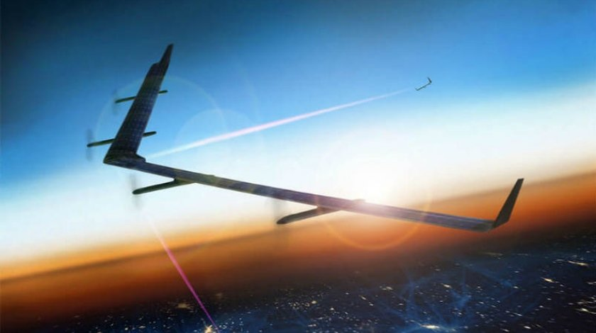 Facebook's Internet-Delivery Drone Completes First Test Flight