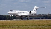 Gulfstream+G500+Production+Test+Aircraft+Makes+First+Flight