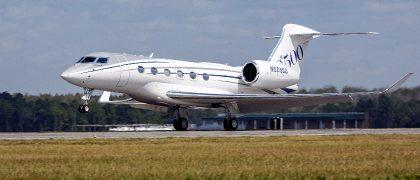 Gulfstream+G500+Production+Test+Aircraft+Makes+First+Flight