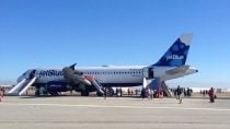 Jet Blue Flight Makes an Emergency Landing After Severe Turbulence