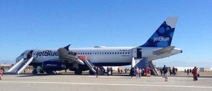Jet Blue Flight Makes an Emergency Landing After Severe Turbulence