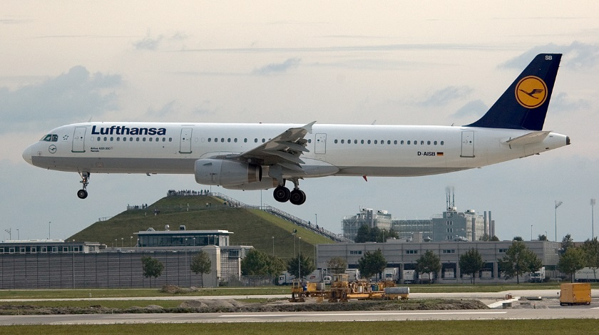 Lufthansa A321 in Near-Miss with UAV at Munich Airport