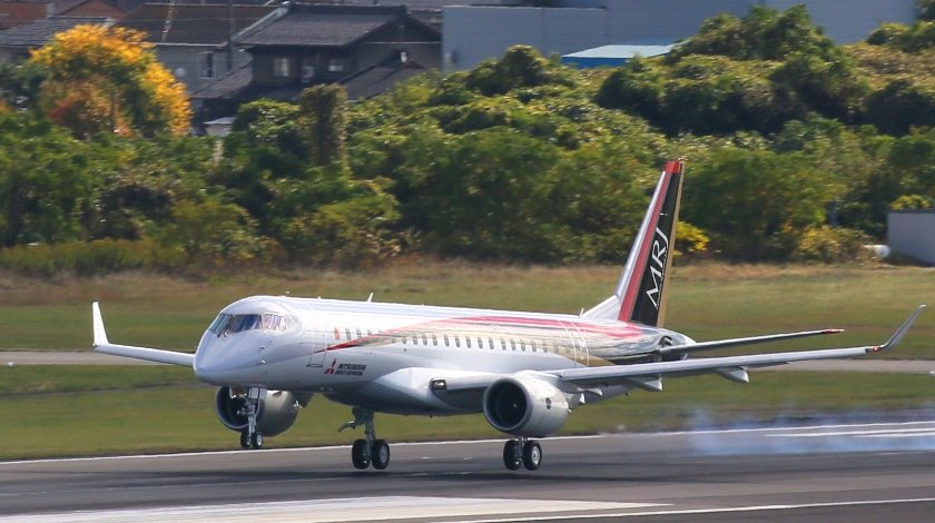 MRJ Aborts Ferry Flight to US Twice in Two Days