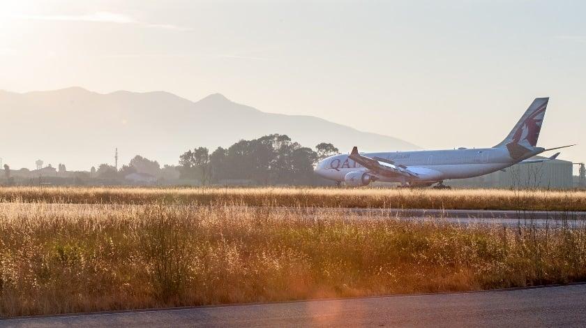 Pisa Welcomes First Qatar Airways Flight from Doha