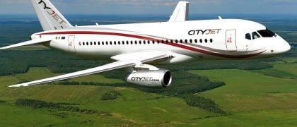 SSJ100 Obtained the EASA Certificate for Operation on Narrow Runways