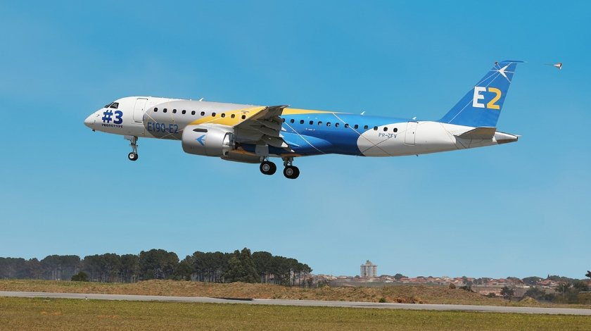 Third Embraer E190-E2 Joins Flight Test Program