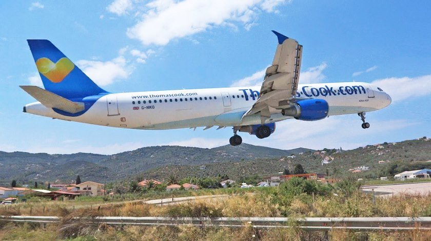 Thomas Cook Flight From Glasgow to Spain Makes an Emergency Landing