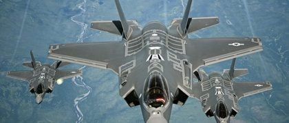 US Air Force Declares F-35A Combat Ready