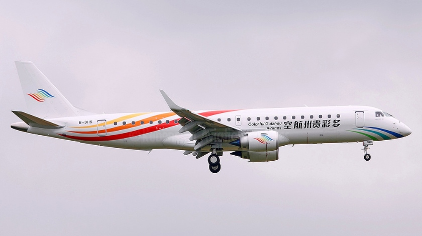 Embraer Signs Sales Agreement with Colorful Guizhou Airlines
