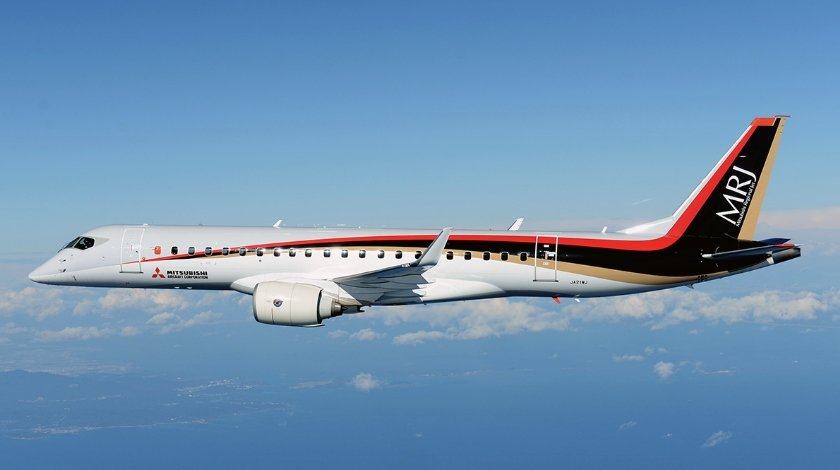 first-mrj-test-aircraft-arrives-in-the-us