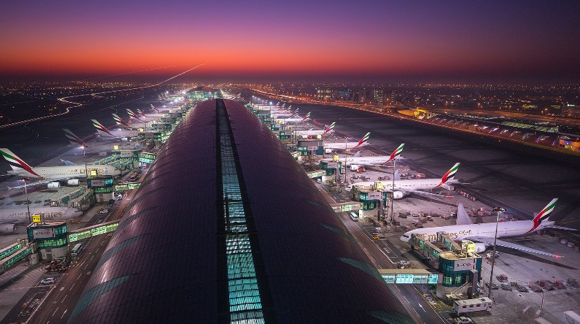 Record Passenger Traffic at Dubai International Airport