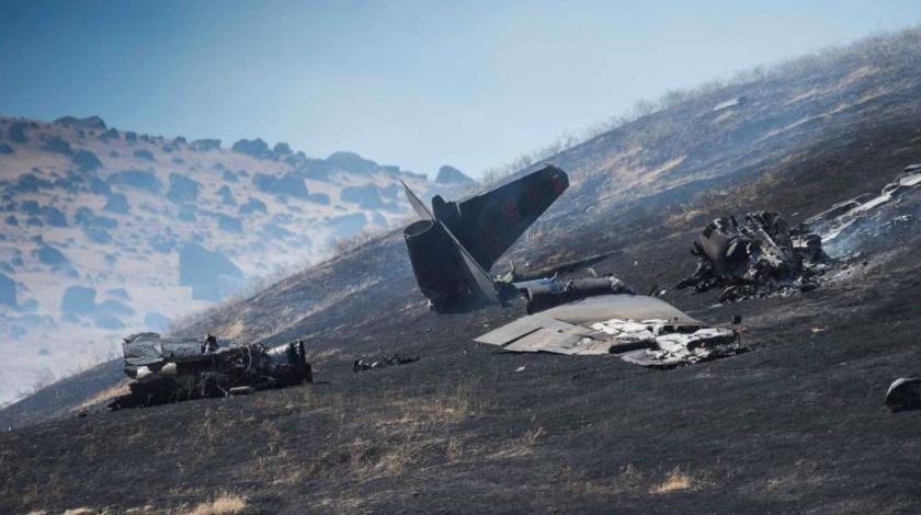 「TU-2S crash kills one pilot, injures another」的圖片搜尋結果