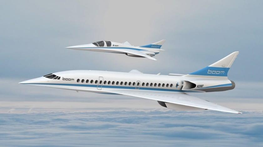 Boom Technology Unveils Supersonic Demonstrator