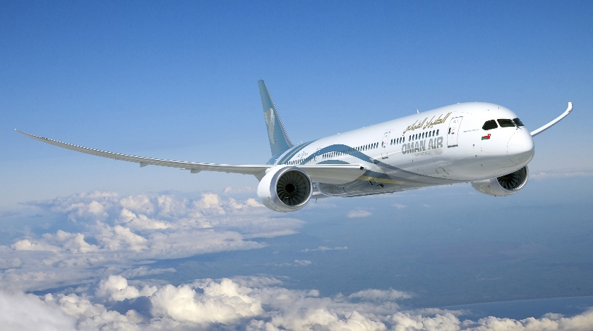 Oman Air Boosts Fleet With New Boeing 787 9 Dreamliner