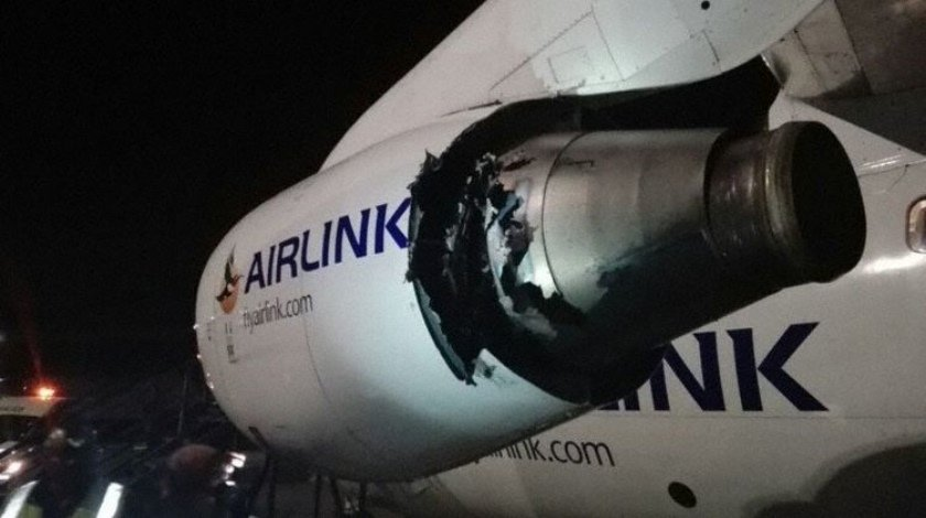 Engine Failure Takes Out Two Engines of SA Airlink RJ85
