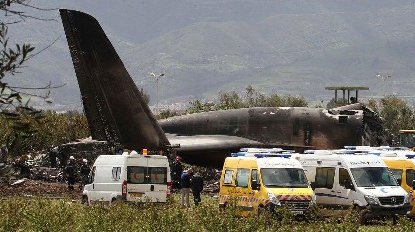 Algerian Military Aircraft IL-76 Crash Leaves 257 Dead