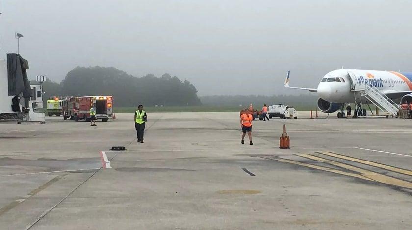 Allegiant A320 Pilot Incapacitated During The Flight