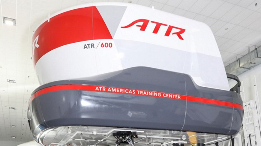 ATR 72-600 Full Flight Simulator in Toulouse Receives EASA