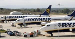 Ryanair aircrafts
