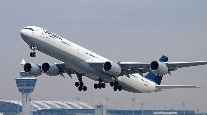 lufthansa airbus a340 600 toxic fumes on board