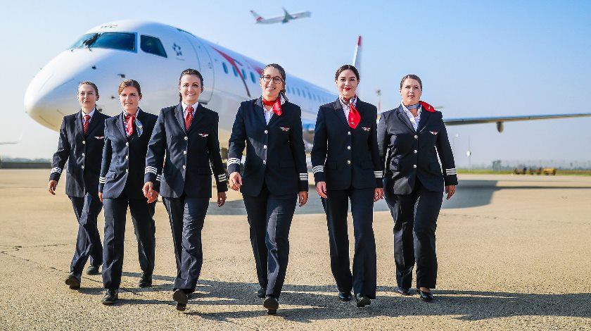 Image result for Austrian Airlines Wants More Women in the Cockpit