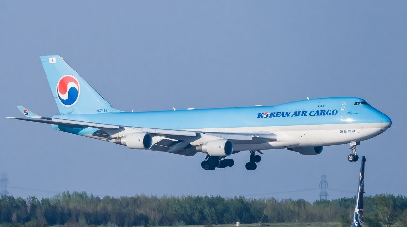 Korean Airlines Boeing 747 Freighter Could not Retract