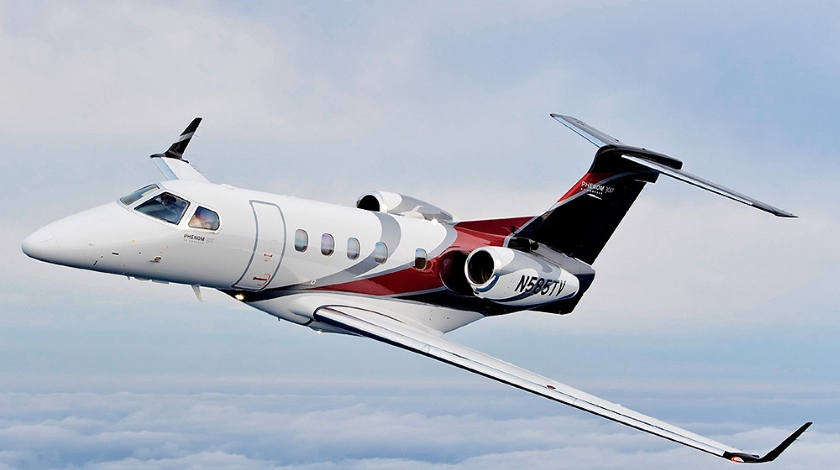 Embraer Phenom 300 Most Delivered Light Business Jet